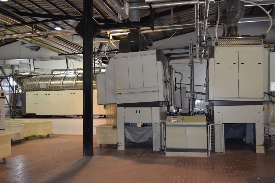 Túnel de lavado Girbau